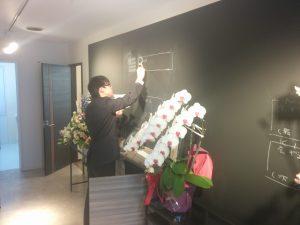 札幌オフィス玄関