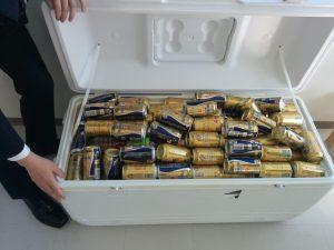 お披露目パーティ・ビール