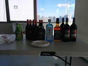 お披露目パーティ・お酒