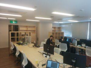 札幌オフィス執務室