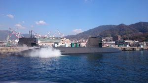 潜水艦の充電